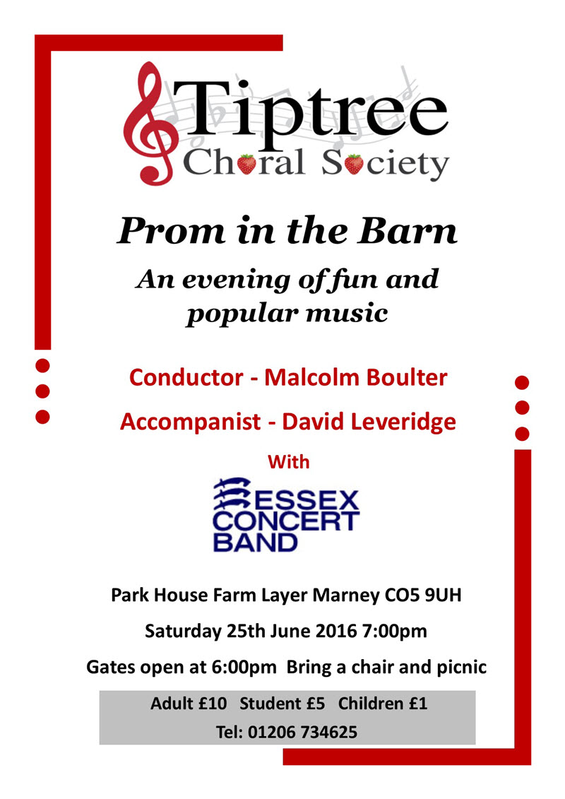 Image of Prom in the Barn 2016 Poster